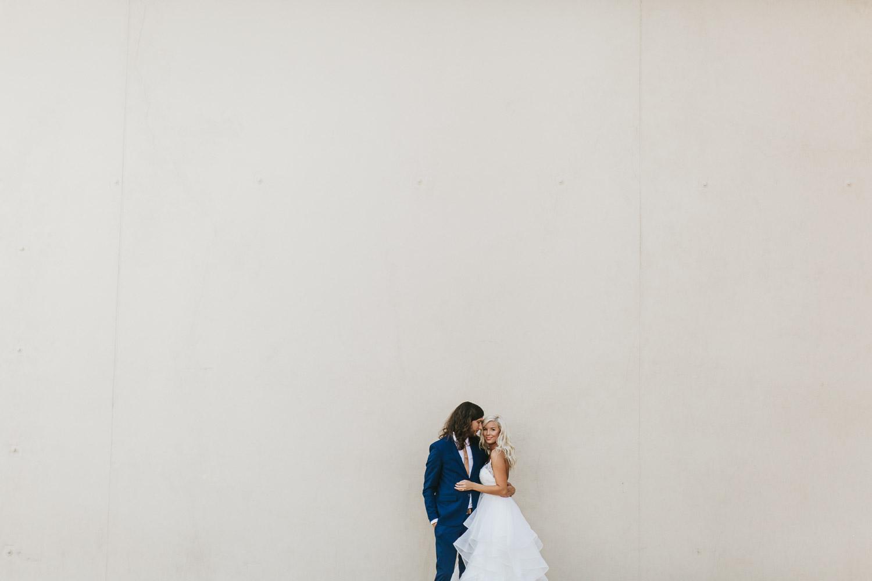 Scott and Emily // A modern garden wedding in Wilmington, NC